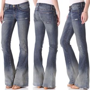 Current Elliot The Low Bell Flare Jeans